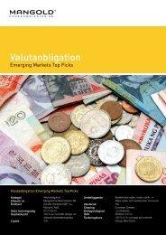 Valutaobligation - Mangold Fondkommission