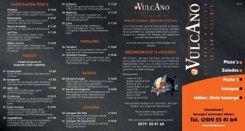 bezorgservice 'il vulcano' - Pizzeria Il Vulcano