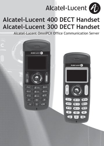 Alcatel Lucent - 300-400 DECT Handset - Homij