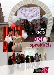 laatste editie (juni 2013) downloaden in pdf-formaat. - Provinciale ...