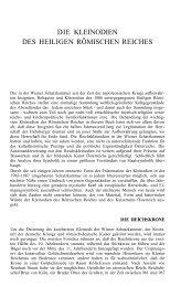 DIE KLEINODIEN DES HEILIGEN RÖMISCHEN REICHES - Oktogon