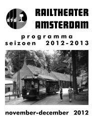 RAILTHEATER AMSTERDAM - Tramshop - De Amsterdamse Tram