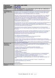 Transversaal programma - Epos