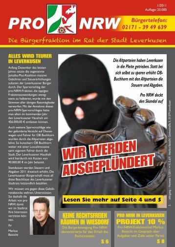 aaa PRO NRW pdf - Alte und neue Zeiten