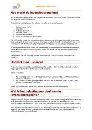 Vraag en antwoord werknemer - VISTA Hypotheek & Pensioen