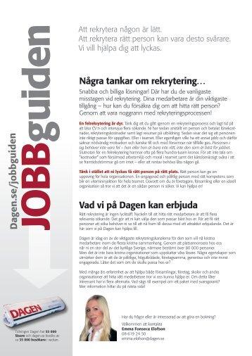 JobbGuiden - Dagen