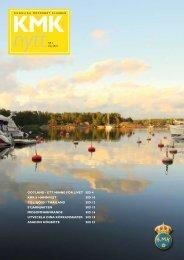 gotland - ett Minne för livet sid 4 KMK:s haMnfest sid 10 till sjöss i ...