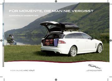Sommerangebote 2013 - Jaguar Land Rover House Kuntz