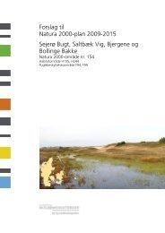 Forslag til Natura 2000-plan 2009-2015 Sejerø Bugt ... - Naturstyrelsen