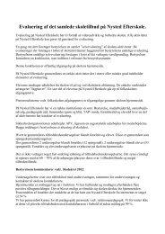 evaluering-bestyrelse 2012 - Nysted Efterskole