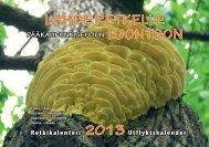 Pääkaupunkiseudun Luontoretkikalenteri 2013 - Gardenia-Helsinki