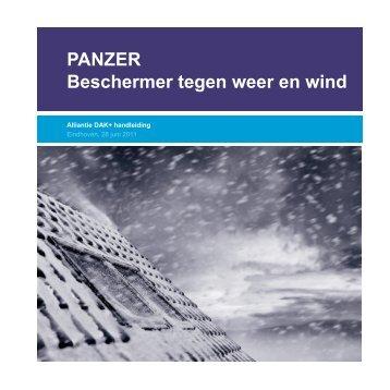 PANZER Beschermer tegen weer en wind