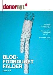 Donor Nyt 106 - Bloddonorerne i Danmark