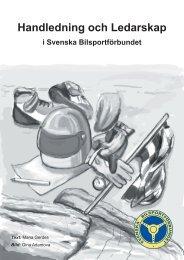 Handledning och Ledarskap - Svenska Bilsportförbundet