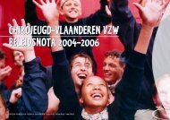 Beleidsnota 2004-2006 - Chiro - Chirojeugd Vlaanderen