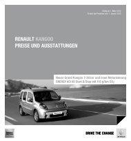 Renault kangoo Preise und ausstattungen - Autowelt-barnim