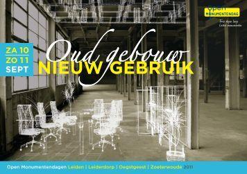 Oud gebouw Nieuw gebruik - Leiden
