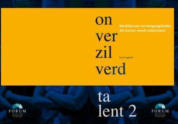 Onverzilverd Talent II - kaans.nl