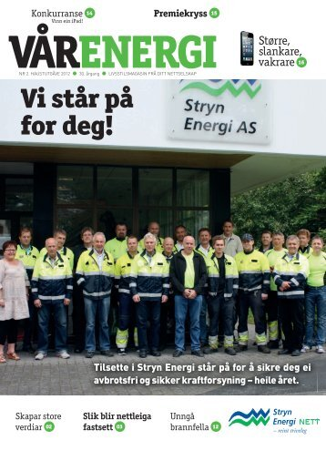 Last ned kundemagasin - Stryn Energi AS
