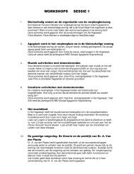 WORKSHOPS SESSIE 1 - Innovatiekring Dementie