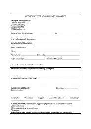 Download hier het medisch attest - Domein Hooidonk