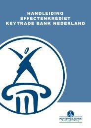 HANDLEIDING EFFECTENKREDIET KEYTRADE BANK ...