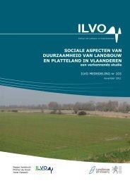Sociale aspecten van duurzaamheid van landbouw en platteland - Vilt