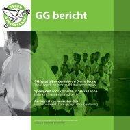 GG Bericht nummer 88, december 2011 - Gered Gereedschap