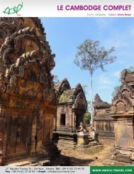LE CAMBODGE COMPLET - Amica Travel