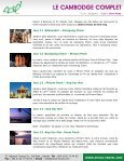 LE CAMBODGE COMPLET - Amica Travel - Page 7