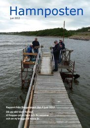 Hamnposten juni 2012 - Första