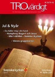 Trovärdigt nr 21/2011 - Svenska kyrkan i Växjö