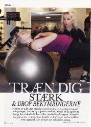 Træn dig stærk & drop bekymringerne - Arndal Spa & Fitness