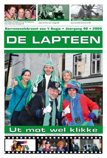Lees de Lapteen van 2009 - Princenhage.net