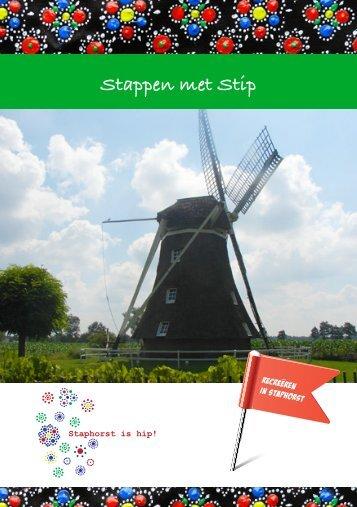 Stappen met Stip - Staphorst is Hip!