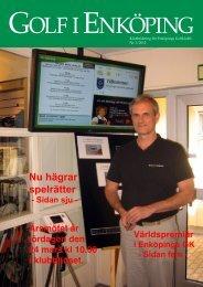 Nr 1 2012 - Enköpings Golfklubb
