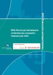 Richtlijn Informatie-uitwisseling huisarts-tweedelijns GGZ - NHG