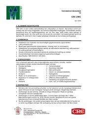 CRC ZINC - CRC Technische Sprays