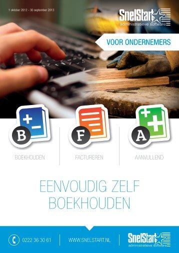 EEnvoudig zElf boEkhoudEn - Hubspot.net
