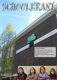 Schoolkrant nr. 2 2012. - Sint Bernardus