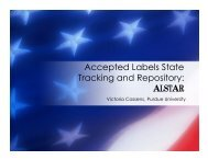 Accepted Labels State Tracking and Repository: ALSTAR