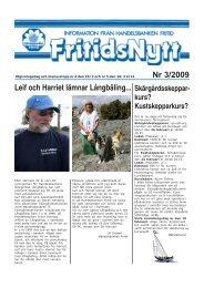 Nr 3/2009 Leif och Harriet lämnar Långbäling... - Handelsbankens IF