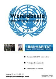 Wereldbeeld 2011-03 - Vereniging voor Verenigde Naties