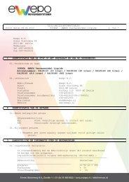 VEILIGHEIDSINFORMATIEBLAD Print datum 08-04 ... - Pro-Am BV