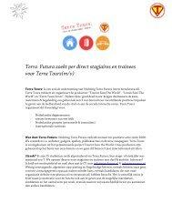 kijk hier voor meer informatie over Stages (onbetaald) - Terra Tours