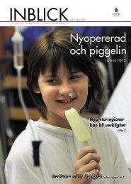Inblick nr 2 2007 - Startsida - Landstinget Dalarna