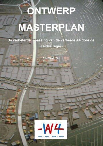 ONTWERP MASTERPLAN - W4-project