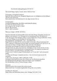 Styrelsemöte näktergalningarna 2012-04-22 Närvarande:Dagny ...