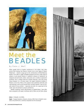 Meet the BEADLES - Peter J. Wolf