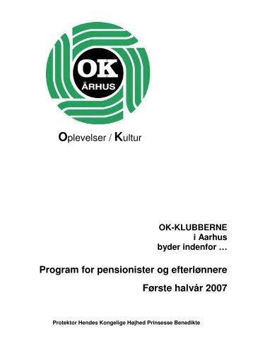 Forårsprogrammet 2007 - OK-Klubberne-Aarhus